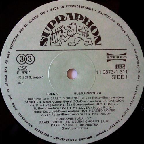 Картинка  Виниловые пластинки  Buenaventura / Karel Vagner Band – Buena / 11 0873-1 311 в  Vinyl Play магазин LP и CD   03687 2
