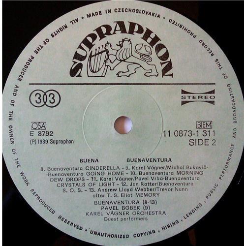 Картинка  Виниловые пластинки  Buenaventura / Karel Vagner Band – Buena / 11 0873-1 311 в  Vinyl Play магазин LP и CD   03687 3