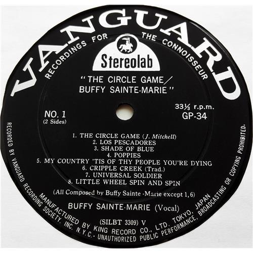 Картинка  Виниловые пластинки  Buffy Sainte-Marie – The Circle Game/Buffy Sainte-Marie / GP 34 в  Vinyl Play магазин LP и CD   07522 4