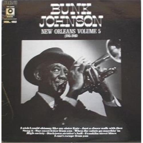 Виниловые пластинки  Bunk Johnson – New Orleans Volume 5 (1945-1946) / PM 42048 в Vinyl Play магазин LP и CD  02295