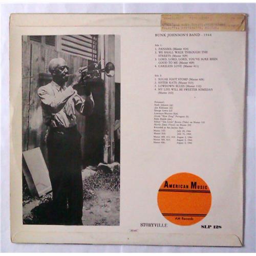 Картинка  Виниловые пластинки  Bunk Johnson's Band With George Lewis – 1944 / SLP 128 в  Vinyl Play магазин LP и CD   04531 1