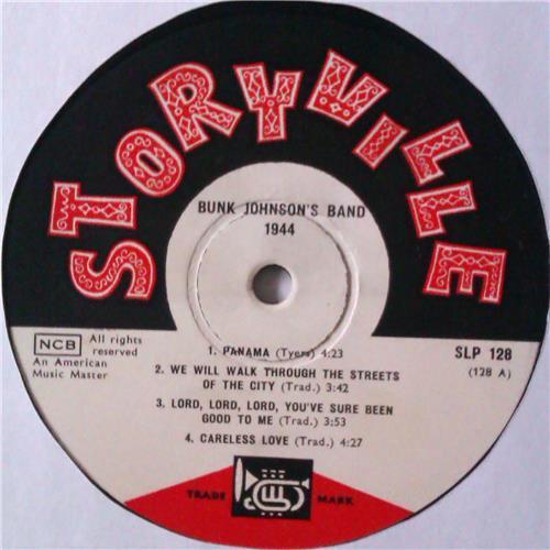 Картинка  Виниловые пластинки  Bunk Johnson's Band With George Lewis – 1944 / SLP 128 в  Vinyl Play магазин LP и CD   04531 2