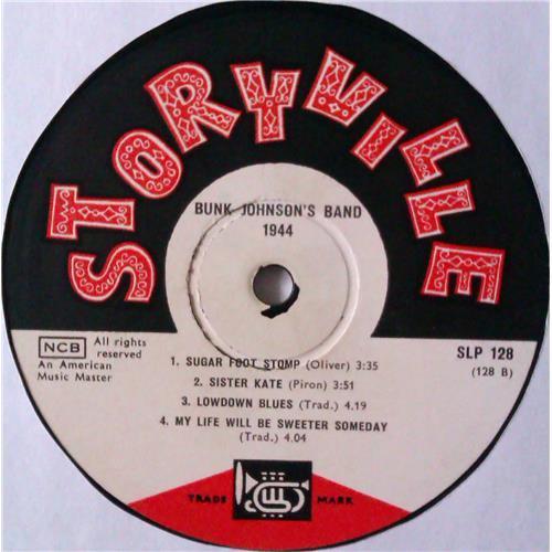 Картинка  Виниловые пластинки  Bunk Johnson's Band With George Lewis – 1944 / SLP 128 в  Vinyl Play магазин LP и CD   04531 3
