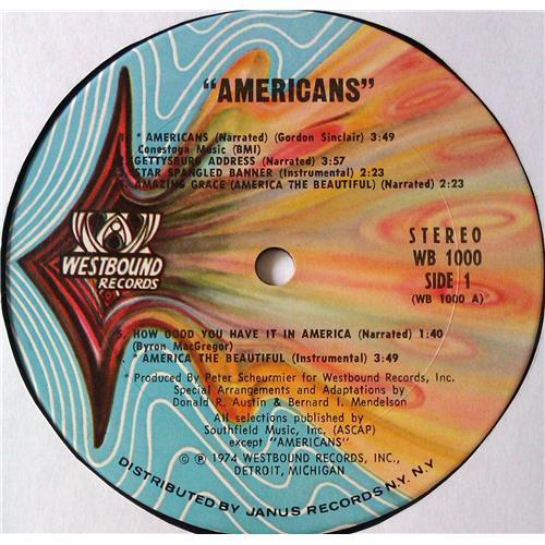 Картинка  Виниловые пластинки  Byron MacGregor – Americans / WB 1000 в  Vinyl Play магазин LP и CD   05622 3