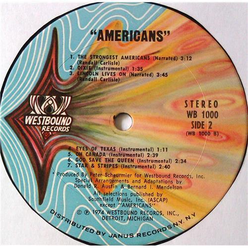 Картинка  Виниловые пластинки  Byron MacGregor – Americans / WB 1000 в  Vinyl Play магазин LP и CD   05622 4