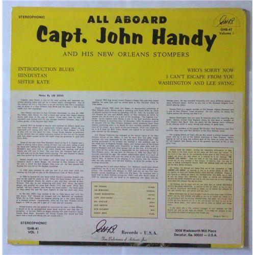 Картинка  Виниловые пластинки  Capt. John Handy – All Aboard (Volume 1) / GHB-41 в  Vinyl Play магазин LP и CD   04292 1