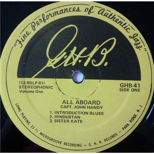 Картинка  Виниловые пластинки  Capt. John Handy – All Aboard (Volume 1) / GHB-41 в  Vinyl Play магазин LP и CD   04292 2