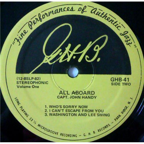 Картинка  Виниловые пластинки  Capt. John Handy – All Aboard (Volume 1) / GHB-41 в  Vinyl Play магазин LP и CD   04292 3