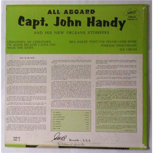 Картинка  Виниловые пластинки  Capt. John Handy – All Aboard (Volume 2) / GHB-42 в  Vinyl Play магазин LP и CD   04202 1