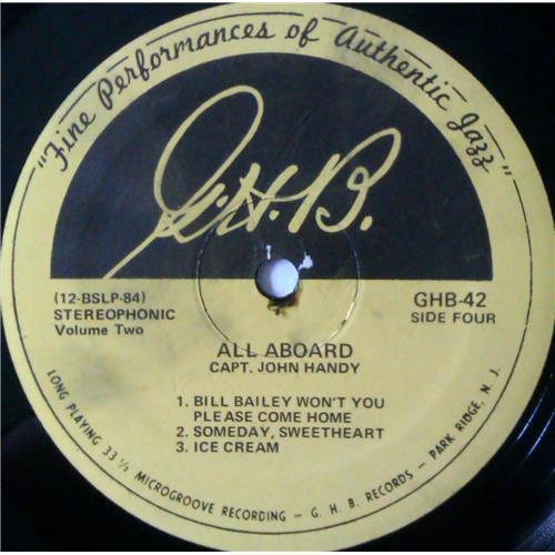 Картинка  Виниловые пластинки  Capt. John Handy – All Aboard (Volume 2) / GHB-42 в  Vinyl Play магазин LP и CD   04202 3