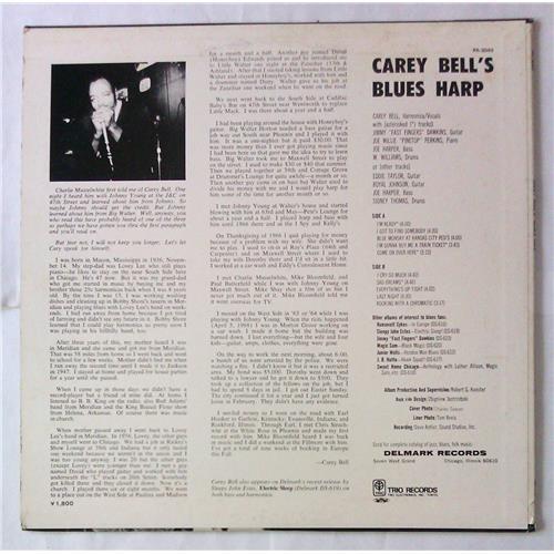Картинка  Виниловые пластинки  Carey Bell – Carey Bell's Blues Harp / PA-3043 в  Vinyl Play магазин LP и CD   05512 1