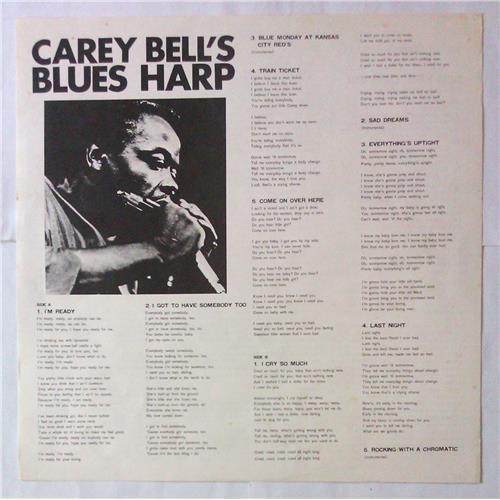 Картинка  Виниловые пластинки  Carey Bell – Carey Bell's Blues Harp / PA-3043 в  Vinyl Play магазин LP и CD   05512 2