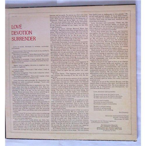 Картинка  Виниловые пластинки  Carlos Santana, Mahavishnu John McLaughlin – Love Devotion Surrender / SOPL 200 в  Vinyl Play магазин LP и CD   06821 2