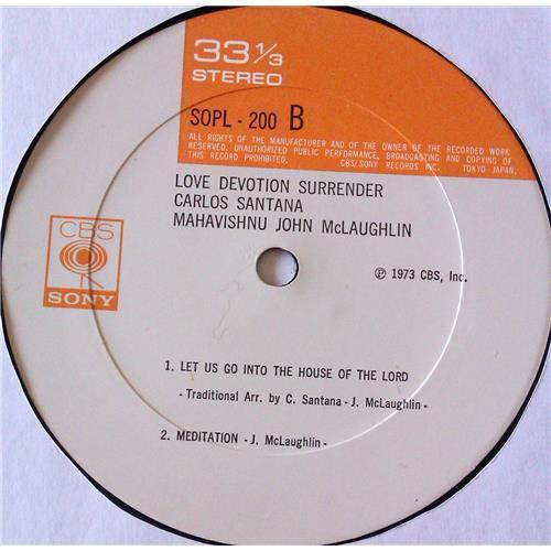 Картинка  Виниловые пластинки  Carlos Santana, Mahavishnu John McLaughlin – Love Devotion Surrender / SOPL 200 в  Vinyl Play магазин LP и CD   06821 7