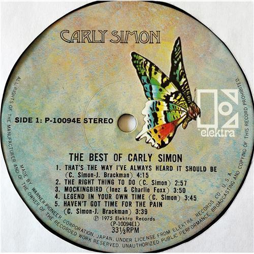Картинка  Виниловые пластинки  Carly Simon – The Best Of Carly Simon / P-10094E в  Vinyl Play магазин LP и CD   07677 4