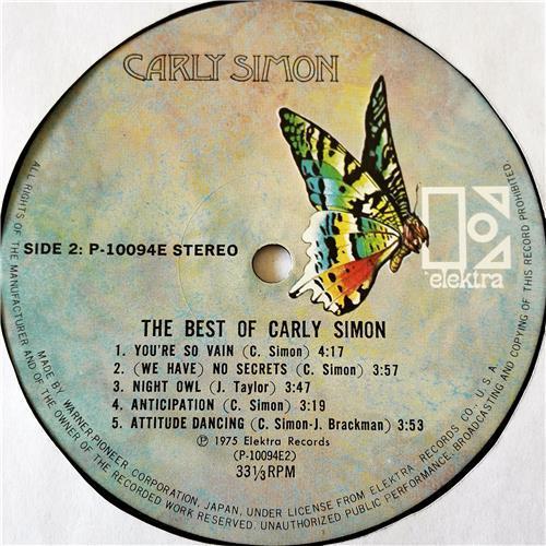 Картинка  Виниловые пластинки  Carly Simon – The Best Of Carly Simon / P-10094E в  Vinyl Play магазин LP и CD   07677 5