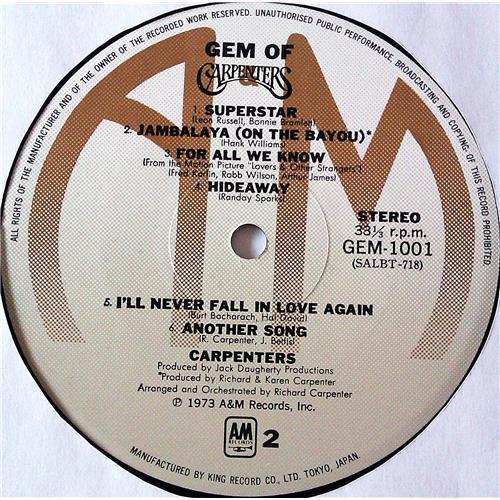 Картинка  Виниловые пластинки  Carpenters – Gem Of Carpenters / GEM 1001-2 в  Vinyl Play магазин LP и CD   07240 5