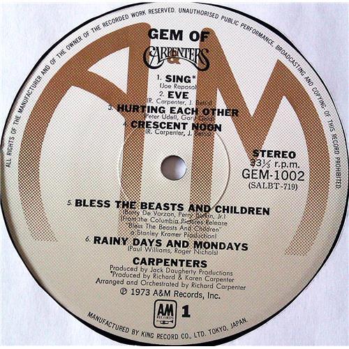 Картинка  Виниловые пластинки  Carpenters – Gem Of Carpenters / GEM 1001-2 в  Vinyl Play магазин LP и CD   07240 6