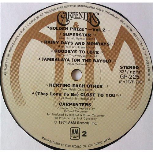 Картинка  Виниловые пластинки  Carpenters – Golden Prize Vol. 2 / GP 225 в  Vinyl Play магазин LP и CD   05576 3
