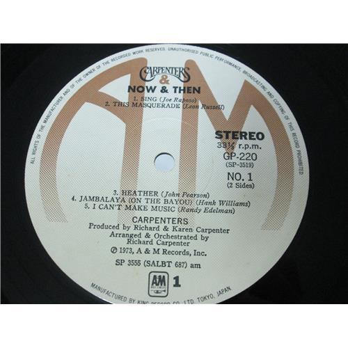 Картинка  Виниловые пластинки  Carpenters – Now & Then / GP-220 в  Vinyl Play магазин LP и CD   01713 5