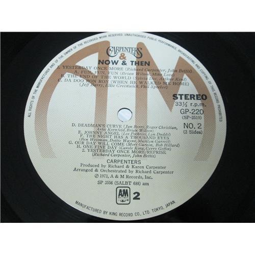 Картинка  Виниловые пластинки  Carpenters – Now & Then / GP-220 в  Vinyl Play магазин LP и CD   01713 6