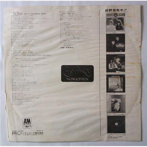 Картинка  Виниловые пластинки  Carpenters – Now & Then / GP-220 в  Vinyl Play магазин LP и CD   04433 7