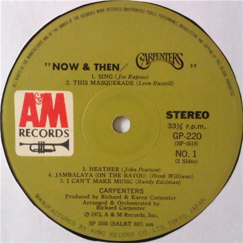 Картинка  Виниловые пластинки  Carpenters – Now & Then / GP-220 в  Vinyl Play магазин LP и CD   04433 8