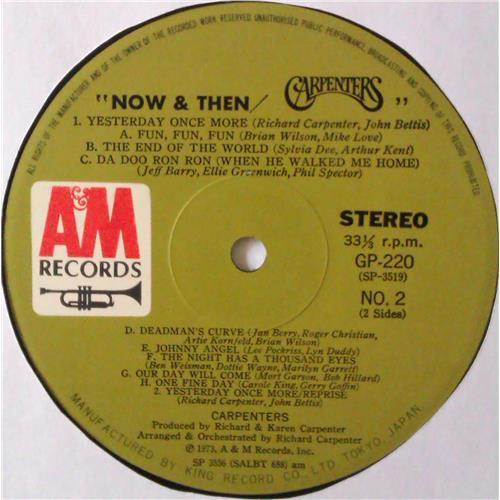 Картинка  Виниловые пластинки  Carpenters – Now & Then / GP-220 в  Vinyl Play магазин LP и CD   04433 9