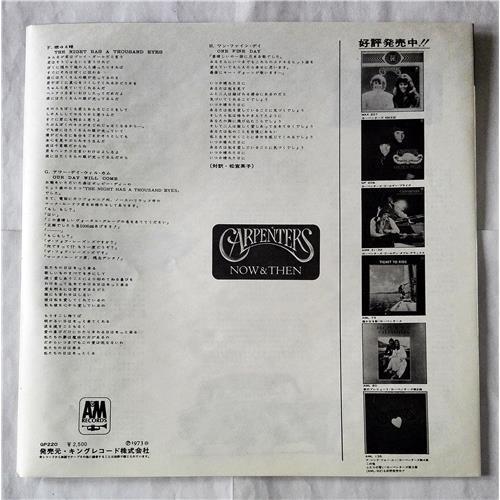 Картинка  Виниловые пластинки  Carpenters – Now & Then / GP-220 в  Vinyl Play магазин LP и CD   07372 5