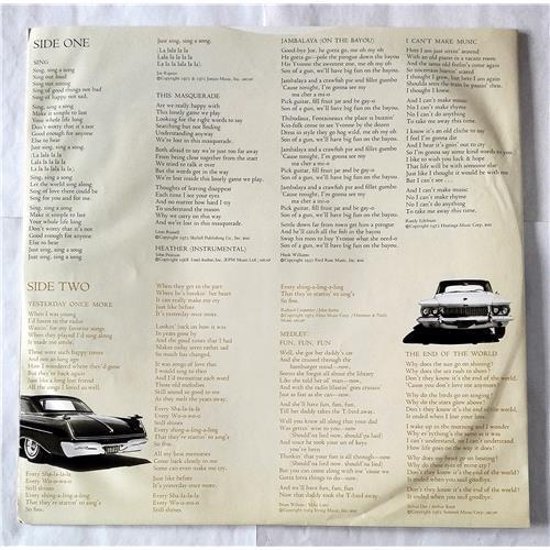 Картинка  Виниловые пластинки  Carpenters – Now & Then / GP-220 в  Vinyl Play магазин LP и CD   07372 6