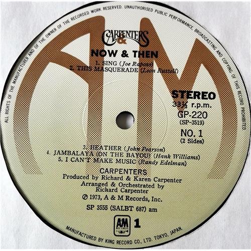 Картинка  Виниловые пластинки  Carpenters – Now & Then / GP-220 в  Vinyl Play магазин LP и CD   07372 8