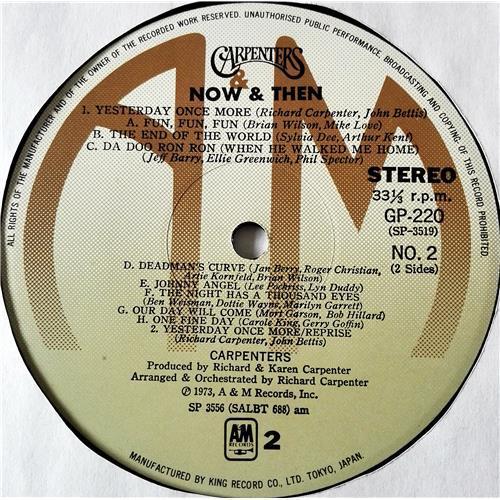 Картинка  Виниловые пластинки  Carpenters – Now & Then / GP-220 в  Vinyl Play магазин LP и CD   07372 9