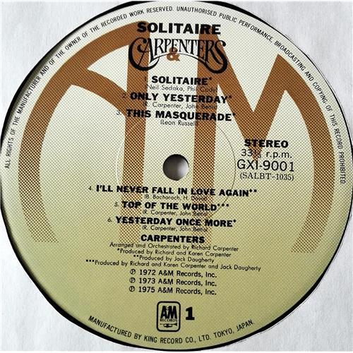 Картинка  Виниловые пластинки  Carpenters – Solitaire / GXI 9001 в  Vinyl Play магазин LP и CD   07371 4