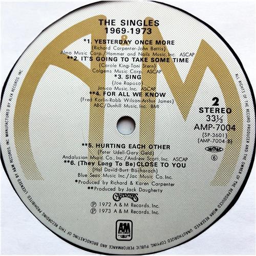 Картинка  Виниловые пластинки  Carpenters – The Singles 1969-1973 / AMP-7004 в  Vinyl Play магазин LP и CD   07740 8