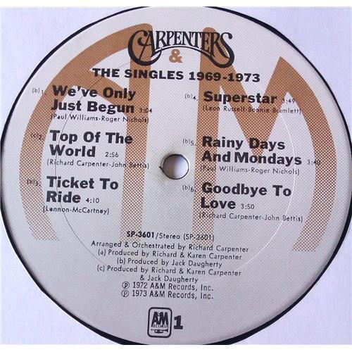 Картинка  Виниловые пластинки  Carpenters – The Singles 1969-1973 / SP 3601 в  Vinyl Play магазин LP и CD   05774 6