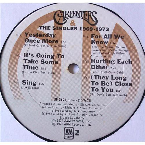 Картинка  Виниловые пластинки  Carpenters – The Singles 1969-1973 / SP 3601 в  Vinyl Play магазин LP и CD   05774 7