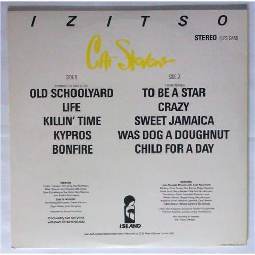 Картинка  Виниловые пластинки  Cat Stevens – Izitso / ILPS 9451 в  Vinyl Play магазин LP и CD   04369 3