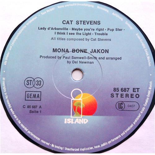 Картинка  Виниловые пластинки  Cat Stevens – Mona Bone Jakon / 85 687 ET в  Vinyl Play магазин LP и CD   06314 2