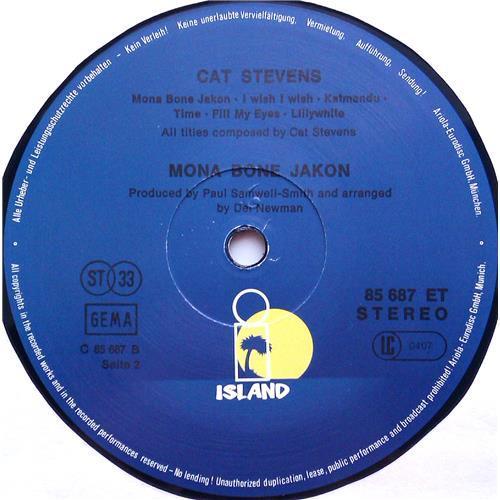 Картинка  Виниловые пластинки  Cat Stevens – Mona Bone Jakon / 85 687 ET в  Vinyl Play магазин LP и CD   06314 3