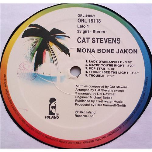 Картинка  Виниловые пластинки  Cat Stevens – Mona Bone Jakon / ORL 19118 в  Vinyl Play магазин LP и CD   06313 2