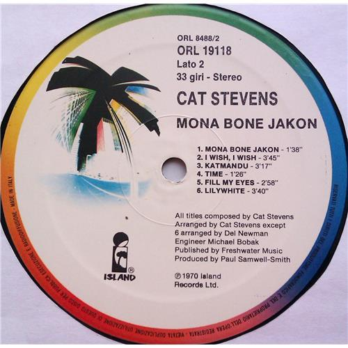 Картинка  Виниловые пластинки  Cat Stevens – Mona Bone Jakon / ORL 19118 в  Vinyl Play магазин LP и CD   06313 3
