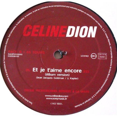 Картинка  Виниловые пластинки  Celine Dion – Et Je T'aime Encore / SAMPMS 13593 в  Vinyl Play магазин LP и CD   05978 2