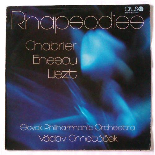 Виниловые пластинки  Chabrier / Enescu / Liszt, Slovak Philharmonic Orchestra, Vaclav Smetacek – Rhapsodies / 9110 1385 в Vinyl Play магазин LP и CD  05197