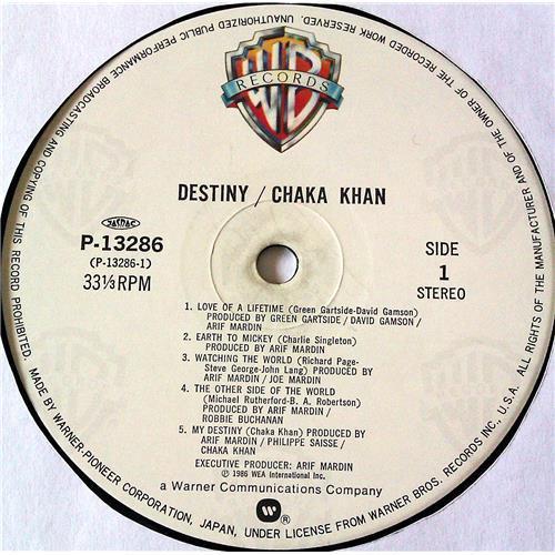 Картинка  Виниловые пластинки  Chaka Khan – Destiny / P-13286 в  Vinyl Play магазин LP и CD   07070 4