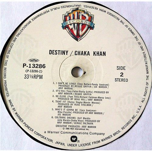 Картинка  Виниловые пластинки  Chaka Khan – Destiny / P-13286 в  Vinyl Play магазин LP и CD   07070 5