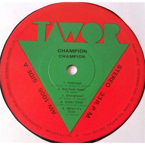 Картинка  Виниловые пластинки  Champion – Champion / AW-1005 в  Vinyl Play магазин LP и CD   05571 4