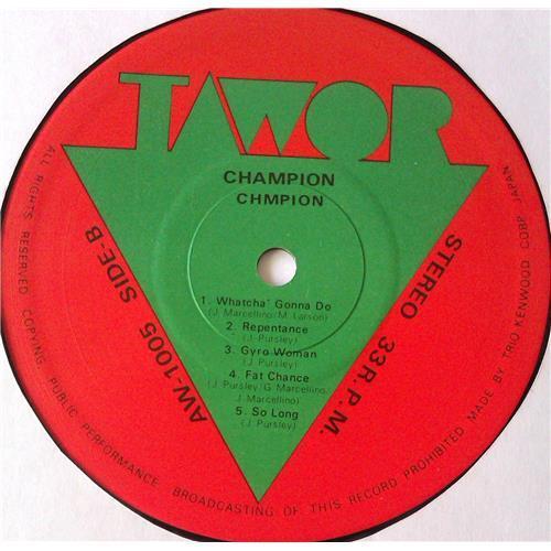 Картинка  Виниловые пластинки  Champion – Champion / AW-1005 в  Vinyl Play магазин LP и CD   05571 5