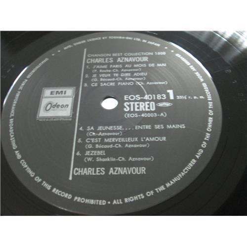 Картинка  Виниловые пластинки  Charles Aznavour – Chanson Best Collection 1500 / EOS-40183 в  Vinyl Play магазин LP и CD   02329 2