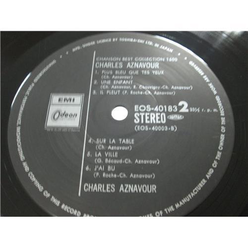 Картинка  Виниловые пластинки  Charles Aznavour – Chanson Best Collection 1500 / EOS-40183 в  Vinyl Play магазин LP и CD   02329 3