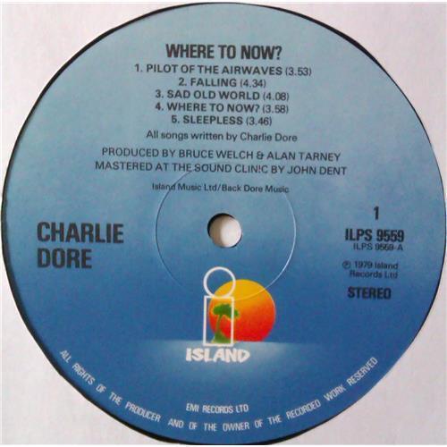 Картинка  Виниловые пластинки  Charlie Dore – Where To Now / ILPS 9559 в  Vinyl Play магазин LP и CD   04432 2